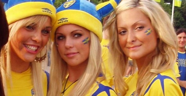Increasingly, blonde-haired Swedish girls are dying their dark to try to avoid being raped by Muslims there