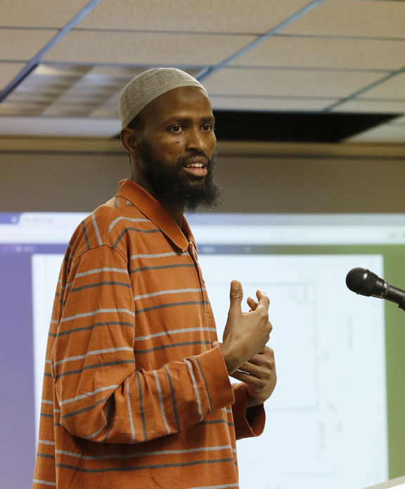 Naji Abdi, a representative of the Islamic Center, told the city council that his group is already occupying the contested portion of the building, and has been in there illegally since March.
