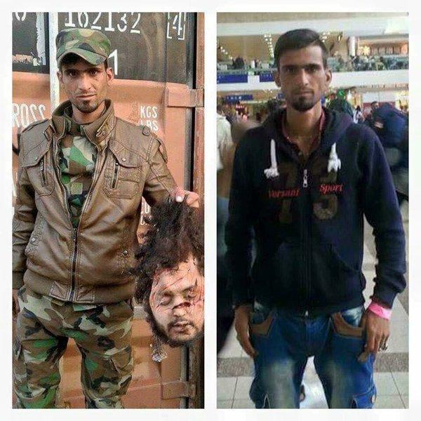 ISIS jihadists in Syria 2013…..Syrian 'refujihadi in Germany 2015