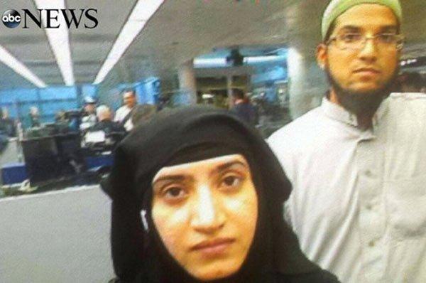 San Bernardino Muslim terrorists Tashfeen Malik and Syed Farook