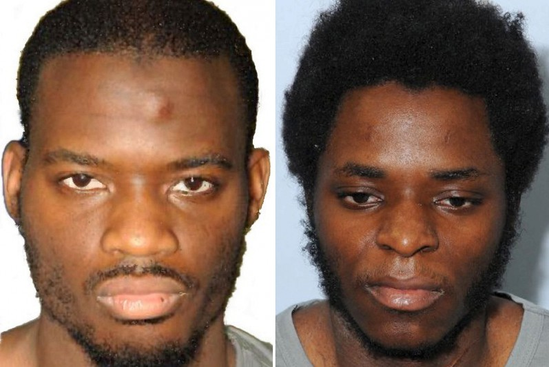 British Soldier Lee Rigby's killers Michael Adebolajo and Michael Adebowale, who attempted to cut off his head in the streets of London