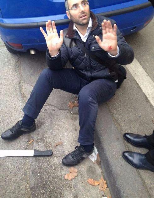 Stabbing victim Benjamin Amsalem