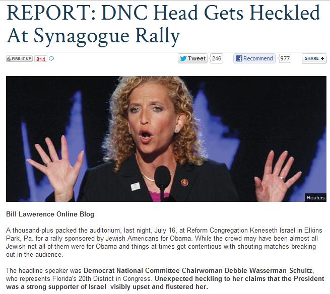 DNC-head-Wasserman-schultz-gets-heckled-in-synagogue-18.7.2012