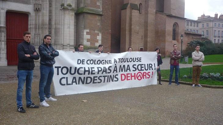 Génération Identitaire Toulouse.