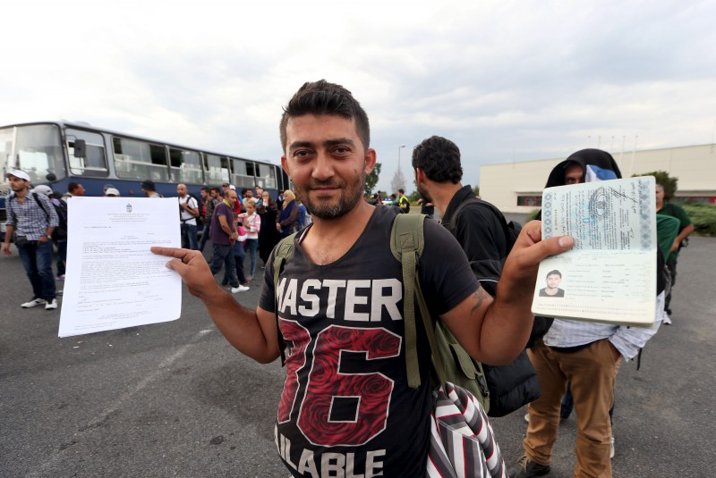 Smiling terrorist has a shiny new passport, compliments of ISIS, and a letter of recommendation,