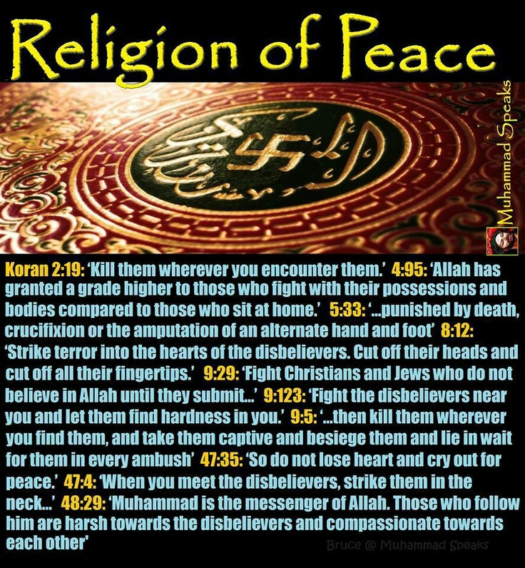the koran and the islamic law of peace Internal affairs of other states and the aspiration of islam to peace and harmony he goes on to explain the relationship between muslims and others in peacetime or in the event of war and the classical jurisprudential division of the world into.
