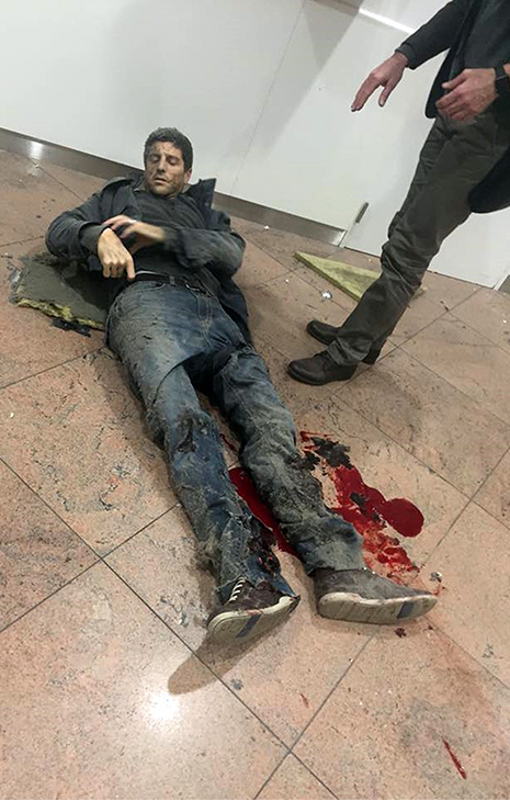 One of the survivors of the Muslim attack in Brussels