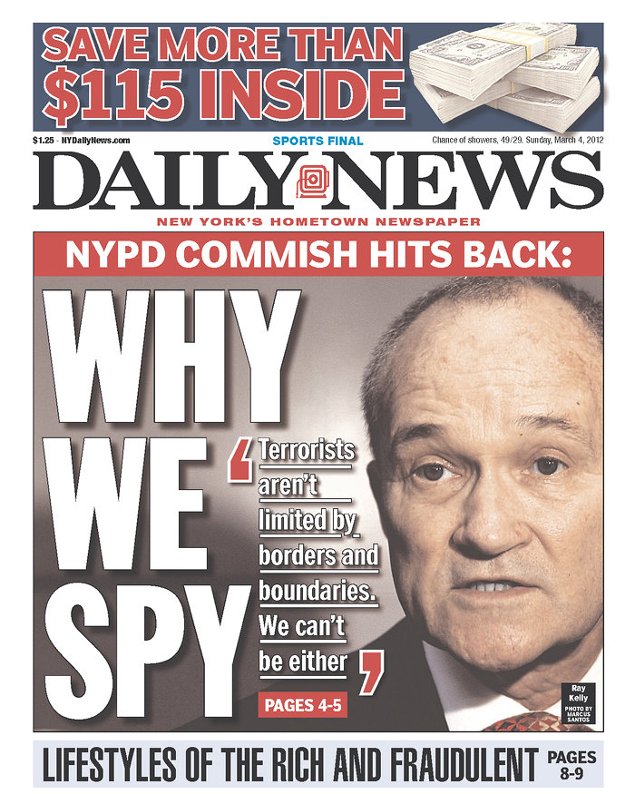 The good old days under Police Commissioner Ray Kelly when Muslim spying helped to avert 20 Islamic terrorists attacks aimed at NYC