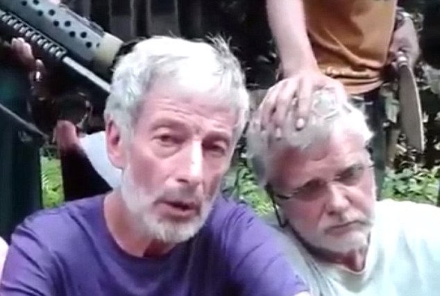 Robert Hall and John Ridsdel, Canadian tourists taken hostage