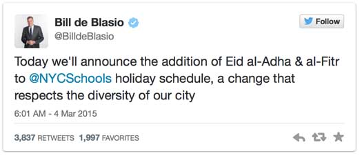 Bills-tweet-on-Muslim-holidays