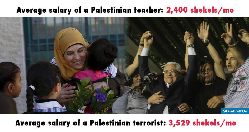 Palestinian-terrorist-vs-teacher-salary-standwithus