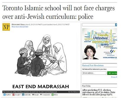 What Muslim in Canada thin k of Jews