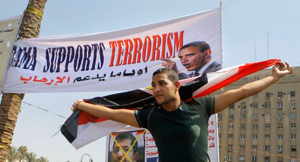Even the Egyptians know Obama is a terrorism supporter