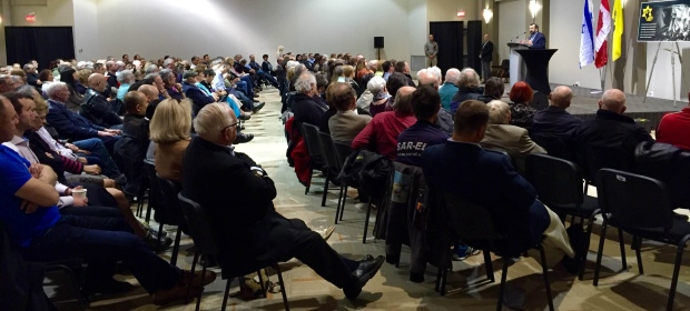 Large turnout of Jews who support Robert Spencer's ideas