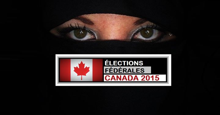 Now that Muslims are allowed to vote wearing Islamic facemasks, Canadians are protesting by voting with their faces covered, too