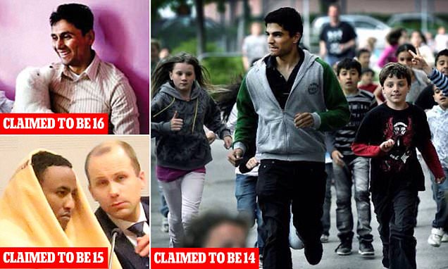 Refugee 'children' in Sweden Saad Alsaud He was said to be the fastest 14 year old in Sweden Internet Image