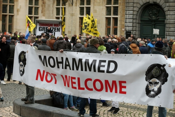 Anti-Muslim protests have been growing in Austria