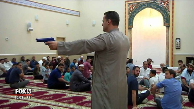 CAIR'S 'Deputy Hamze teaches radical mosque goers how to use guns