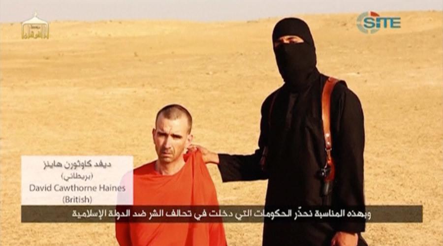 Jihadi John before he beheaded British citizen