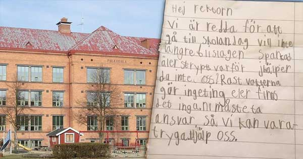 children-letter-sweden-fear-beatings