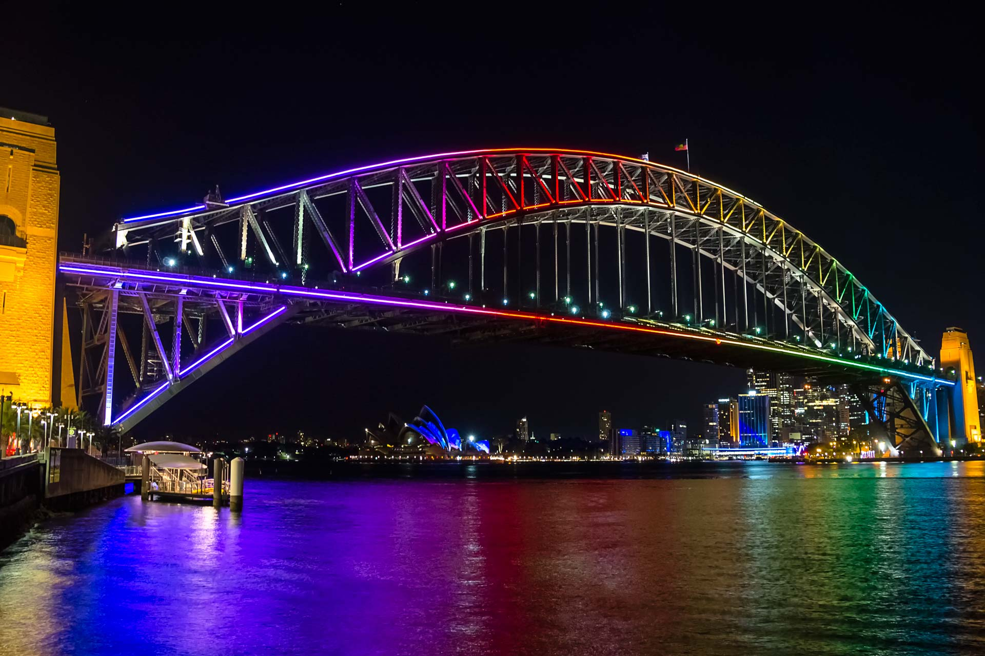 sydney-harbour-bridge-rainbow-lighting