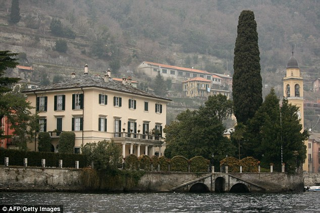 George and Amal Clooney's ultra-luxury Italian house, Villa Oleandra, is on Lake Como's south-western shore