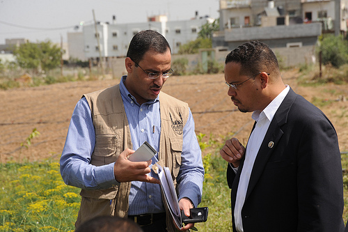 ELLISON MEETS WITH HAMAS MEMBER IN GAZA ON A TRIP FUNDED BY U.S. TAXPAYERS