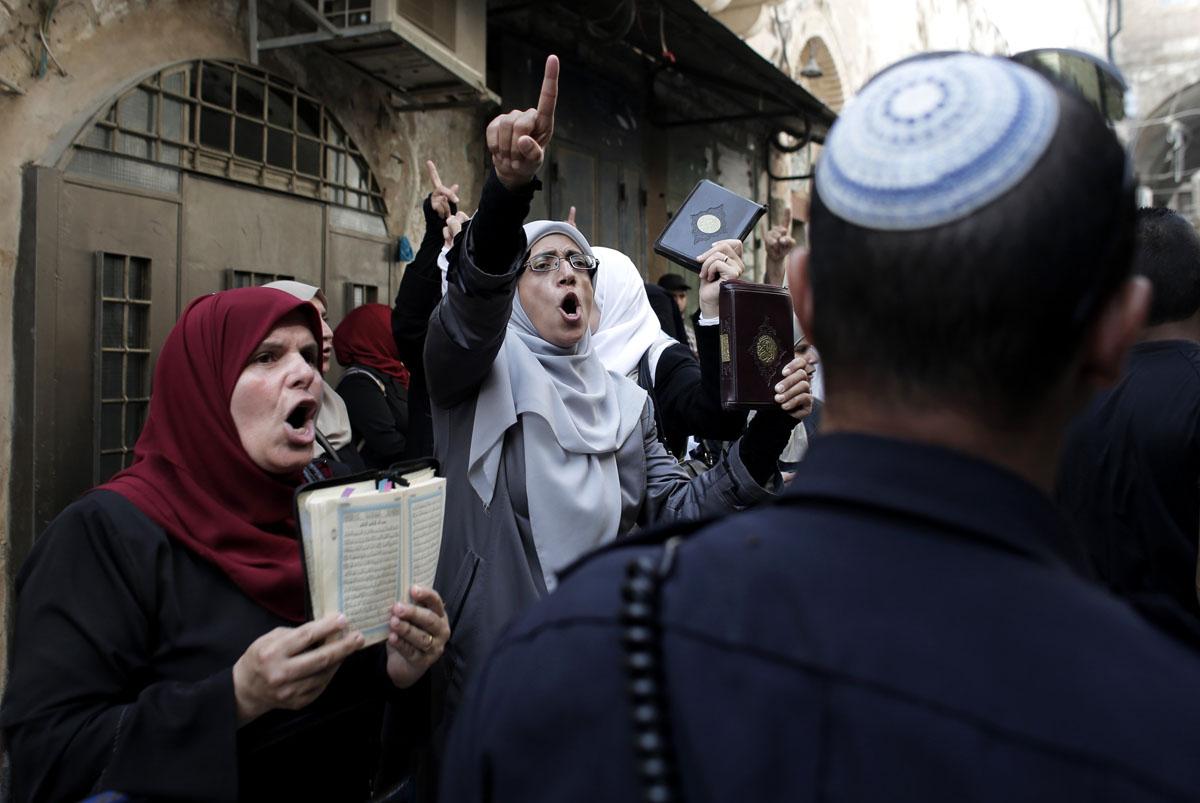 TOPSHOTS-ISRAEL-PALESTINIAN-JERUSALEM-CONFLICT