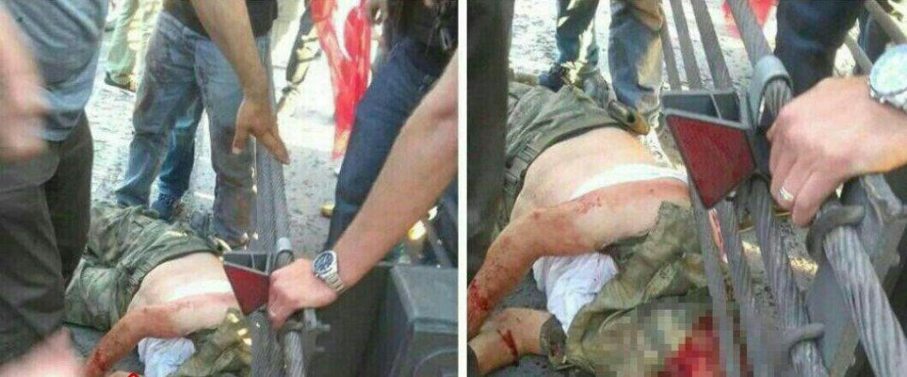 Erdogan's troops have beheaded some of the prisoners