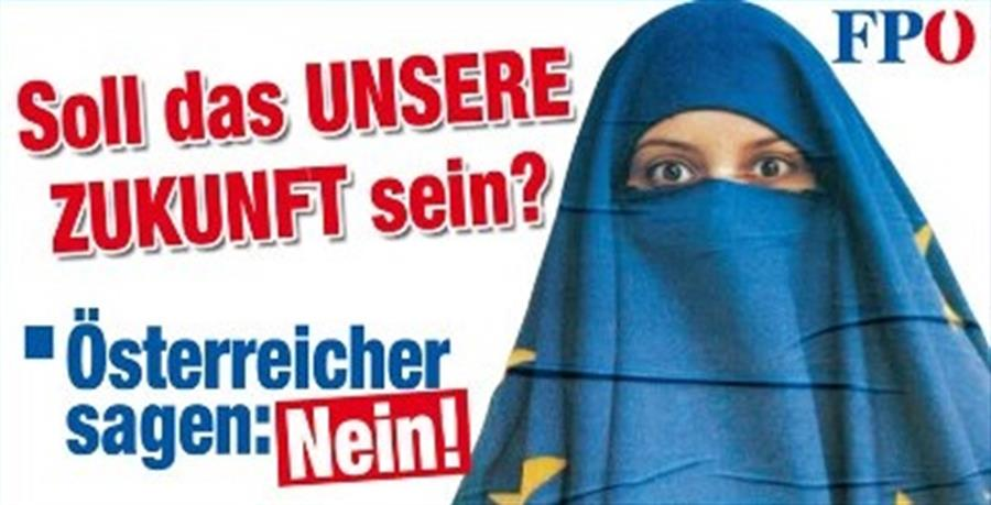 Austrian Freedom Party has been trying to get the Muslim headbag banned