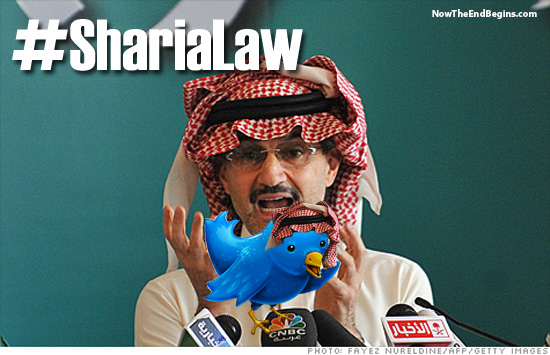Saudi Prince Alwaleed bin Talal purchased a $300 million share in Twitter and now anti-Islam tweets are being blocked