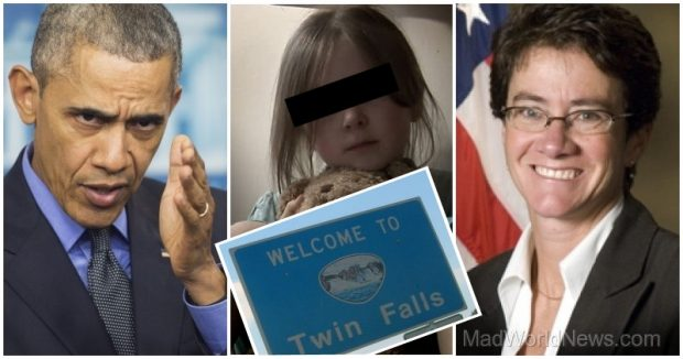 "Obama's US Attorney in Idaho, Wendy J. Olson (right), is threatening to prosecute anyone who spreads ""false or inflammatory information"" about the Muslim refugee perps."