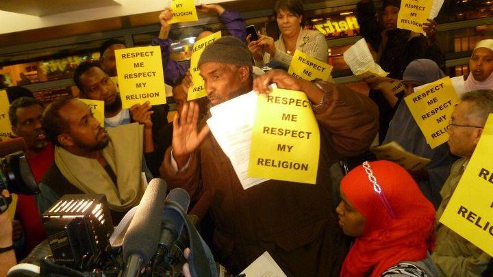 HERTZ Muslim employees demand respect