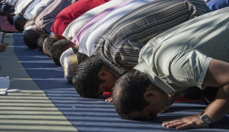 Muslim employees take several prayer breaks during the day which upsets other workers