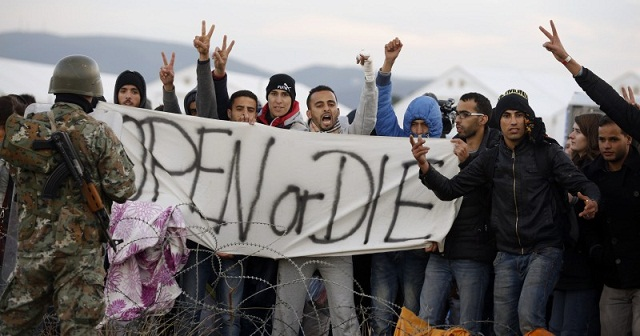 Muslim invaders threaten Europe to open its borders or get killed