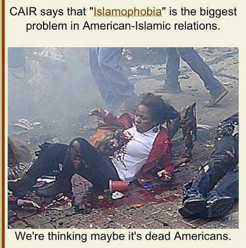 Boston Marathon Muslim terrorist attack