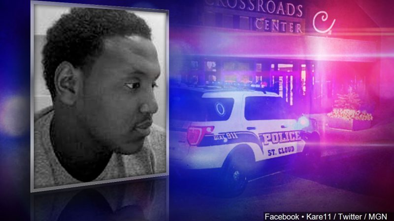 SOMALI MUSLIM Dahir Adan stabbed ten people at a mall before being shot by an off-duty police officer.