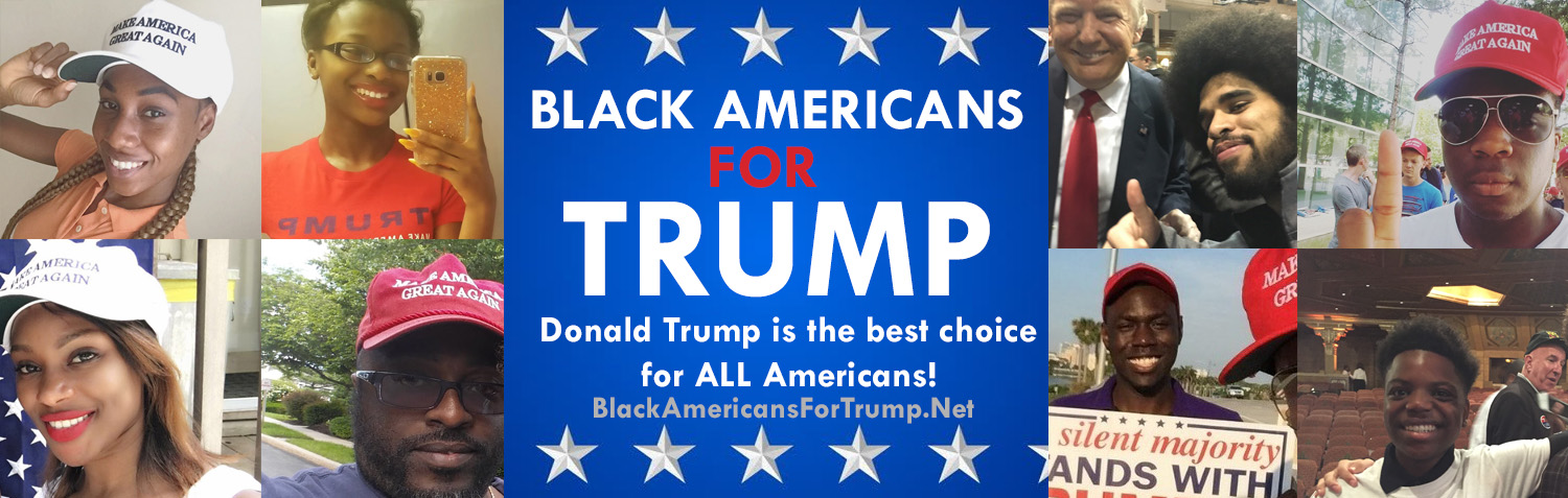 Image result for Black support growing for Trump