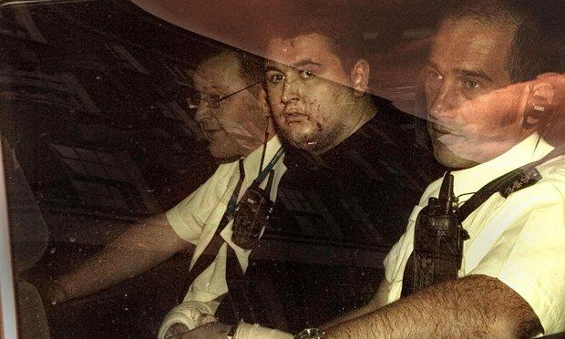 In custody after blast