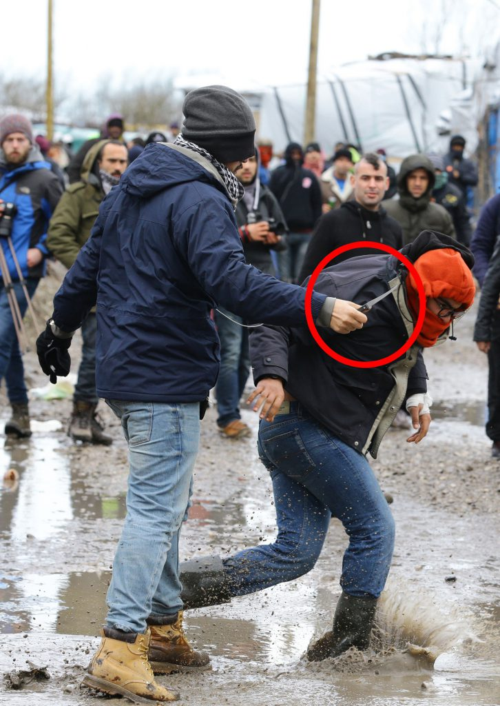 Muslims being Muslims in Calais