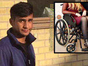 Image result for 5 Muslim migrants brutally raped a wheelchair-bound woman