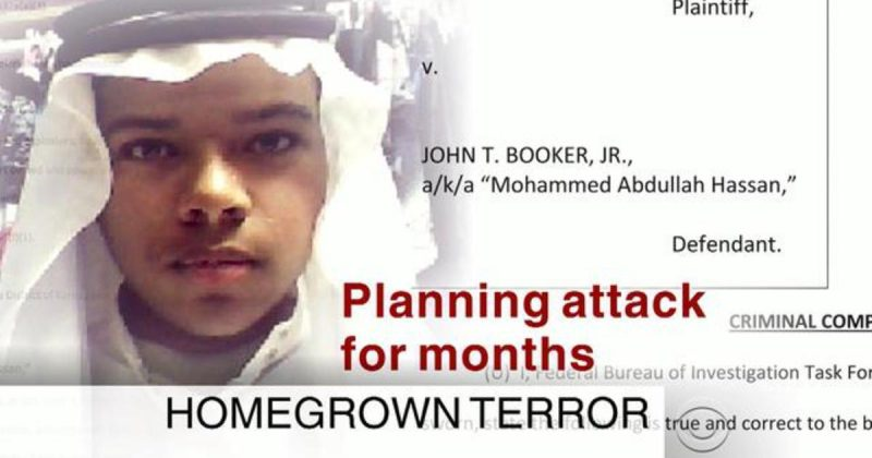 20-year-old Kansas Muslim John T. Booker, Jr., could face life in prison for allegedly plotting to bomb a U.S. military base.