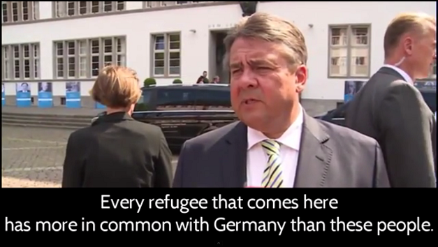 "RISE OF THE 4TH REICH? German Vice Chancellor Sigmar Gabriel recently called for the ""rounding up and imprisonment of German citizens who oppose mass Muslim immigration"