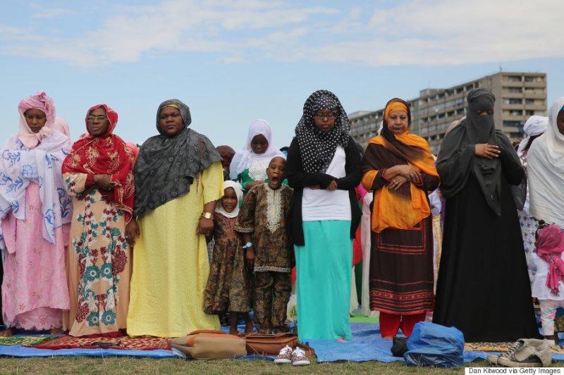 Muslims Celebrate The Festival Of Eid In London