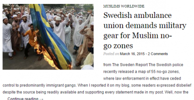 Sweden BurningAGAIN - Sweden no go zones map
