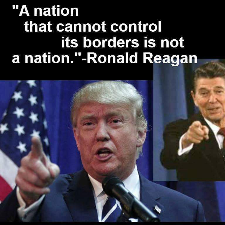 Image result for stand with trump on immigration ban meme