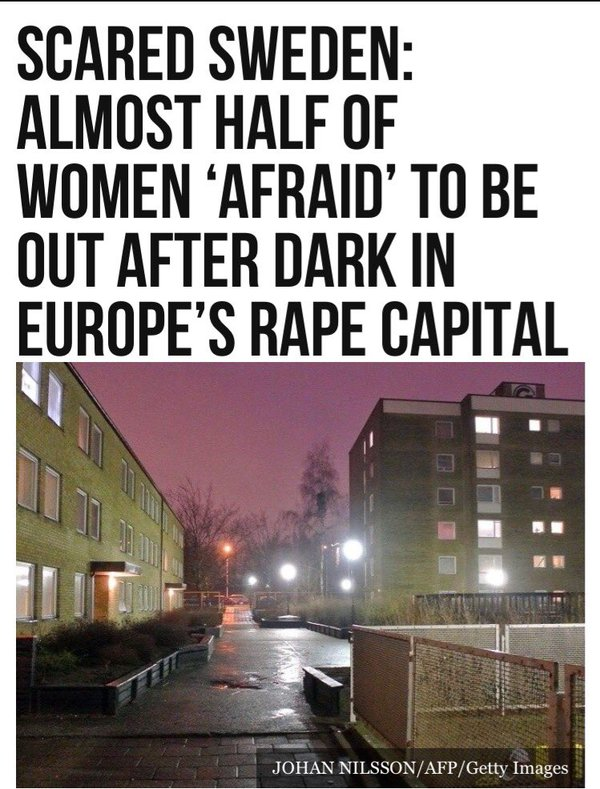Image result for vile murdering and raping muslim invaders in Sweden