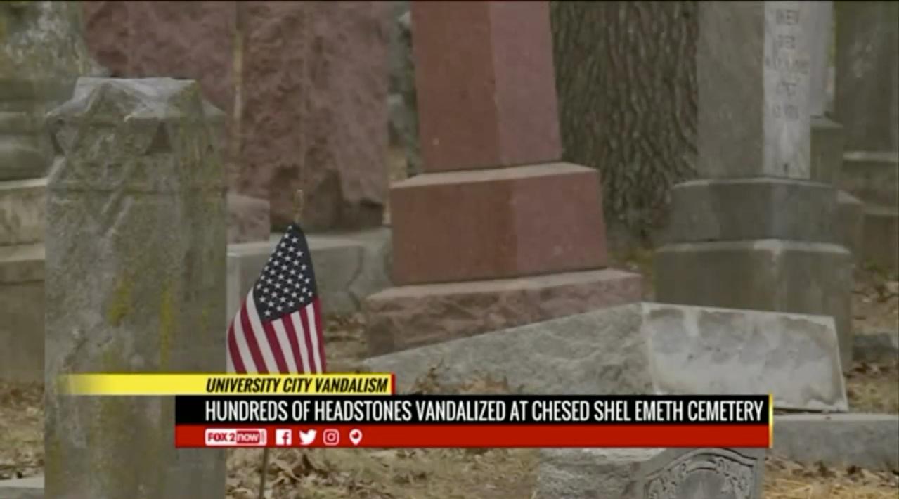 Warwick teen gets jail for vandalizing Jewish cemetery