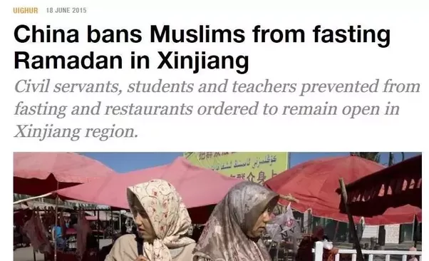 When china does something that the media and leftist islam it comes as anti muslim sentiment rises in china and the chinese government cracks down on people practicing the islamic faith sciox Choice Image